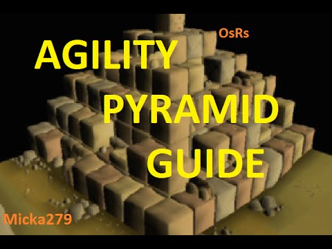 OsRs : Agility pyramid guide ADVANCED