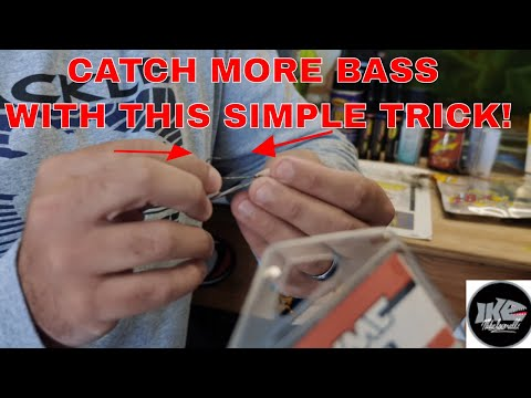 How To ADD A STINGER HOOK To Your FISH HEAD SPINS To CATCH MORE BASS!