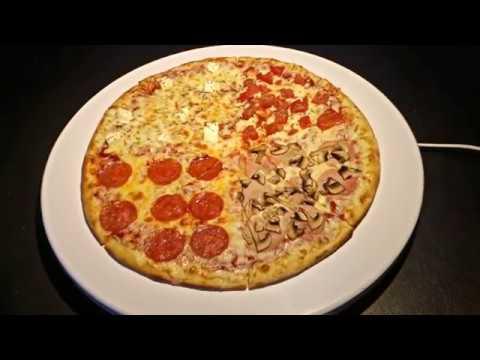 Dodopizza. Как преображается Додо пицца под светодиодным освещением.