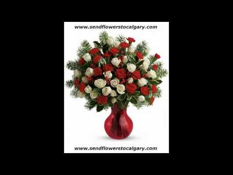Send flowers from Italy to Calgary Alberta Canada