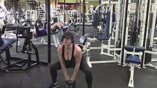Brittany Leigh Full Workout 9-24-2017 - Back & Legs