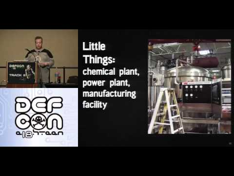 DEFCON 18: SCADA and ICS for Security Experts: How to Avoid Cyberdouchery 1/4