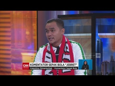 Rahasia Jebret, Bung Valen Komentator Sepak Bola
