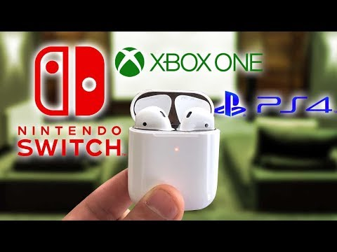 Use AirPods On PS4, Xbox One, Nintendo Switch Working Methods