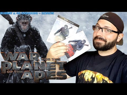 War For The Planet Of The Apes Bluray & 4K Ultra HD Unboxing & Review | BLURAY DAN