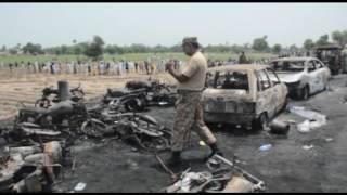 Más de 100 personas mueren tratando de recoger combustible en Pakistán
