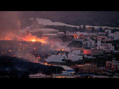 شاهد: بركان جزيرة لابالما الإسبانية يواصل ثورانه وقذف حممه ويدمّر مزيداً من الأراضي والمنازل  - نشر قبل 54 دقيقة