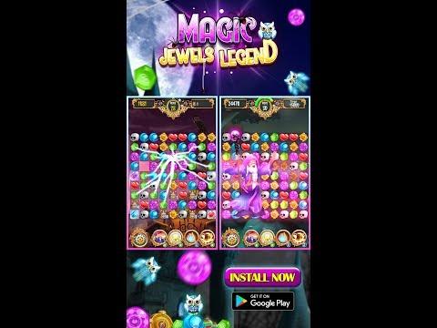 Magic Jewels Legend: The Best New Match 3 Games