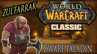 Zul'Farrak Guild Run - Classic Vanilla WoW - Dwarf Paladin