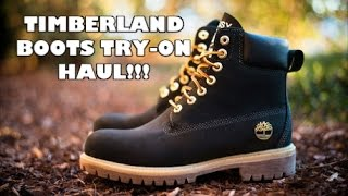 10 TIMBERLAND BOOTS EVERY MAN AND WOMAN MUST HAVE/ TIMBERLAND BOOT HAUL AND TRY-ON