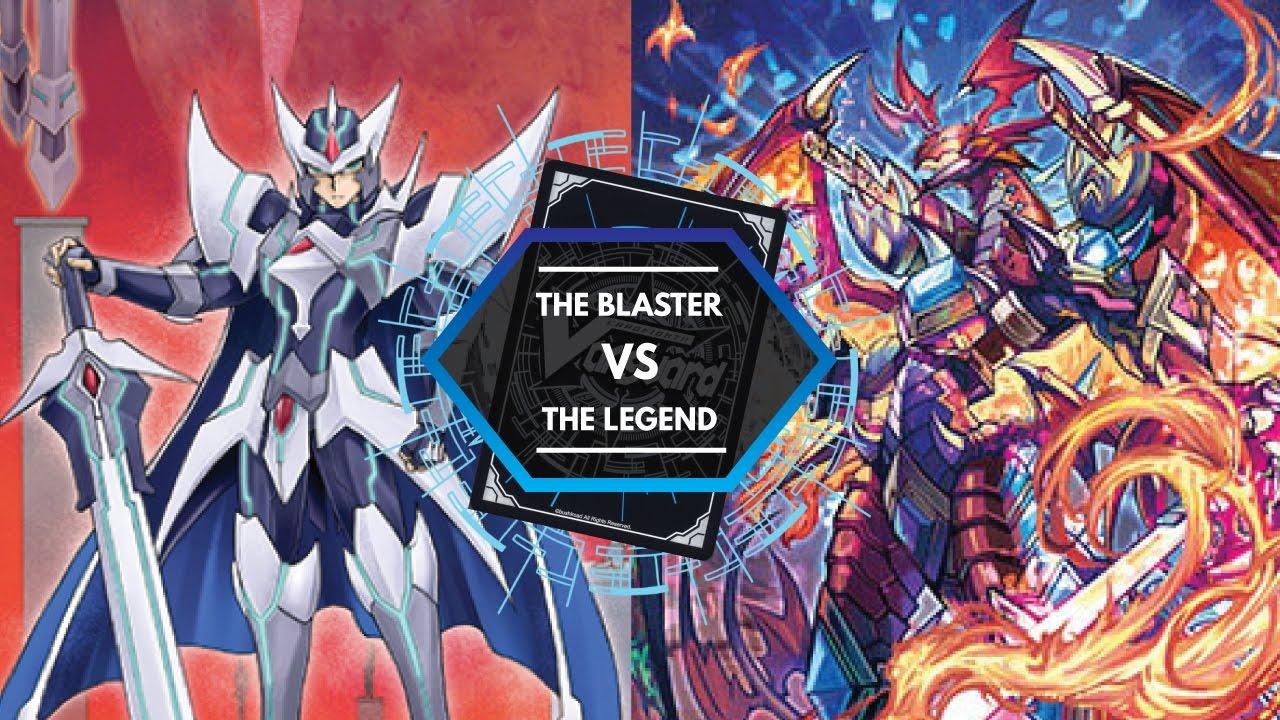 G Legend Deck Fights The Blaster Quot Quot Sendou Aichi Vs The