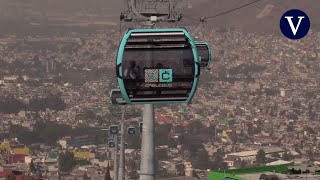 Ciudad de México inaugura su primer teleférico