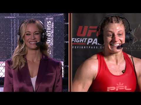 Invicta FC 43: Kayla Harrison Post-Fight Interview