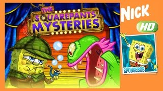 Spongebob - The Squarepants Mysteries Story Mode - Nickelodeon Games