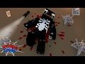 Minecraft: MENINO ARANHA - DERROTEI O VENOM!? #49
