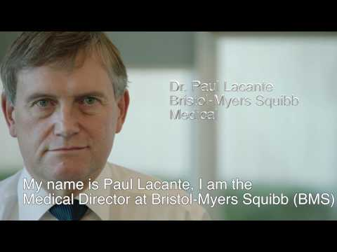 Proud to be part of pharma - Dr Paul Lacante, Medical Director