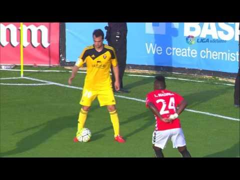 Resumen de Gimnàstic de Tarragona (2-3) Osasuna