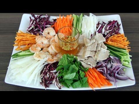 Vietnamese Combo Salad (Gỏi thập cẩm) & Wedding Menu