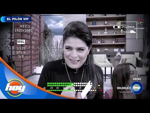¡Victoria Ruffo Confiesa Ser Fan De Integrante Del Programa Hoy! | El Pilón VIP