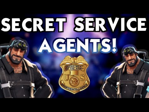 SECRET AGENT SPIES! (Fortnite Battle Royale)