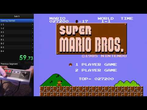 Speedrun Tutorial: How to Beat Super Mario Bros. in Under 5 Minutes
