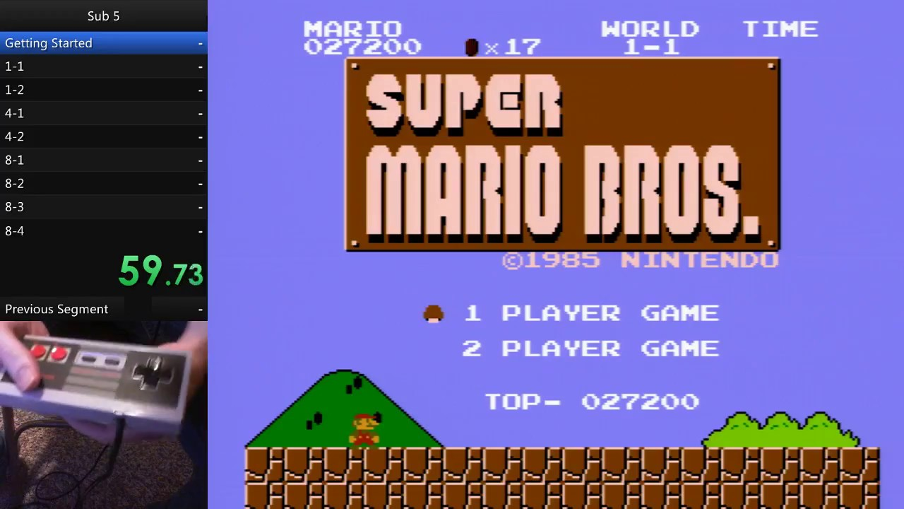 Speedrun Tutorial: How to Beat Super Mario Bros  in Under 5 Minutes