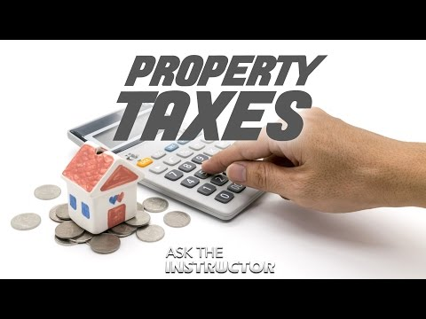 Calculating Property Taxes - Ask The Instructor