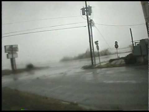 Hurricane Ike Time Lapse: East Galveston