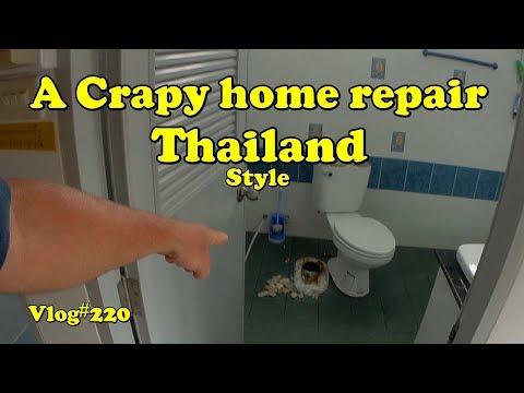 Vlog#220 A Crapy Repair Job Thailand Style