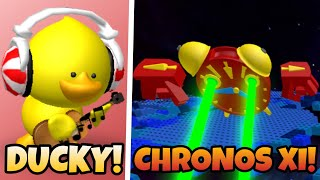Ducky and Chronos XI Boss Fight! (Roblox Reason 2 Die)