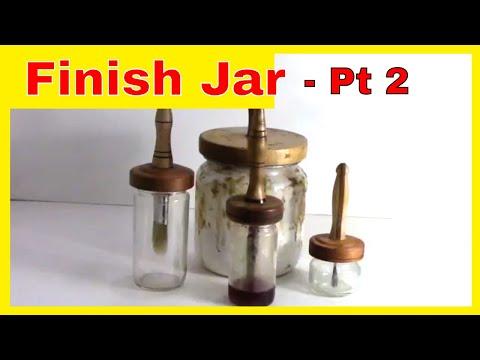 Turn a Finish Jar Lid  for Woodturners – Part 2