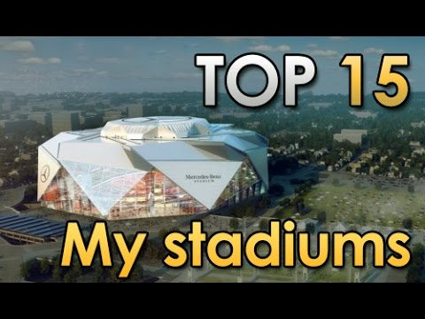 Minecraft - TOP 15 My Stadiums! [Official]
