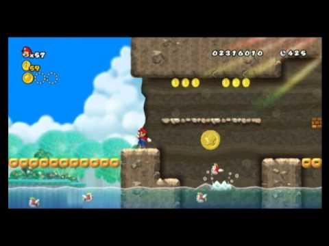 World 4 Star Coin Locations New Super Mario Bros Wii