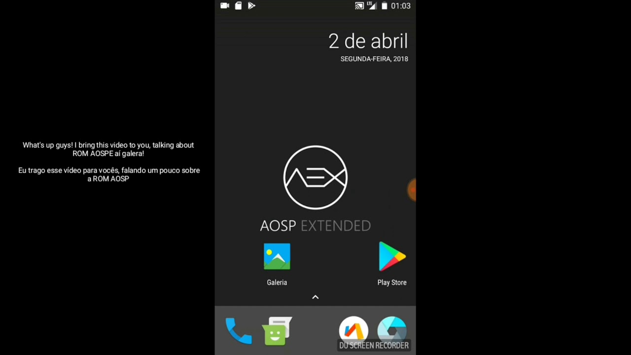 Custom rom AOSP for the Galaxy A7 2017 A720f, running 7 0