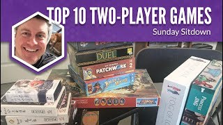 My Top 10 Favorite 2-Player Games (Sunday Sitdown)