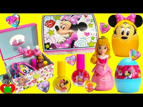 Minnie Mouse Jewelry Box and Surprises