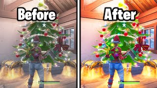 BEST FORTNITE GRAPHIC SETTINGS! HOW TO MAKE FORTNITE COLORFUL! PS4/XBOX/PC FORTNITE GRAPHIC SETTINGS