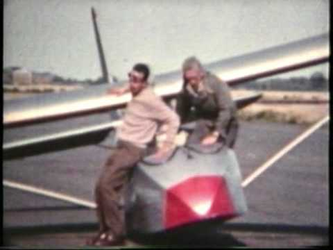 PODINGTON AIR BASE, NORTHAMPTON GLIDING CLUB 1950s