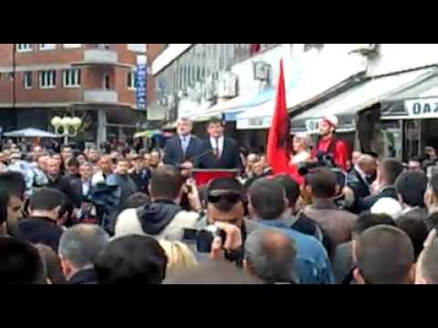 Bamir Topi në Tetovë