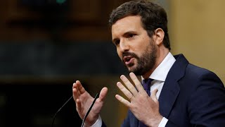 """Casado abronca a Sánchez por la """"chulería de un gobierno insensible e incompetente"""""""