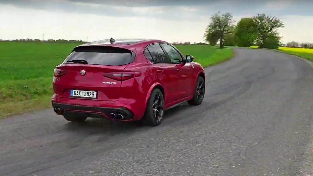 Alfa Giulia Qv >> 2019 Alfa Romeo Stelvio Qv Engine Exhaust Sound Fast Driving
