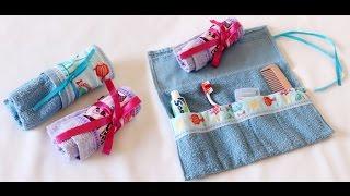 Aprenda Fazer Necessaire Kit Higiene