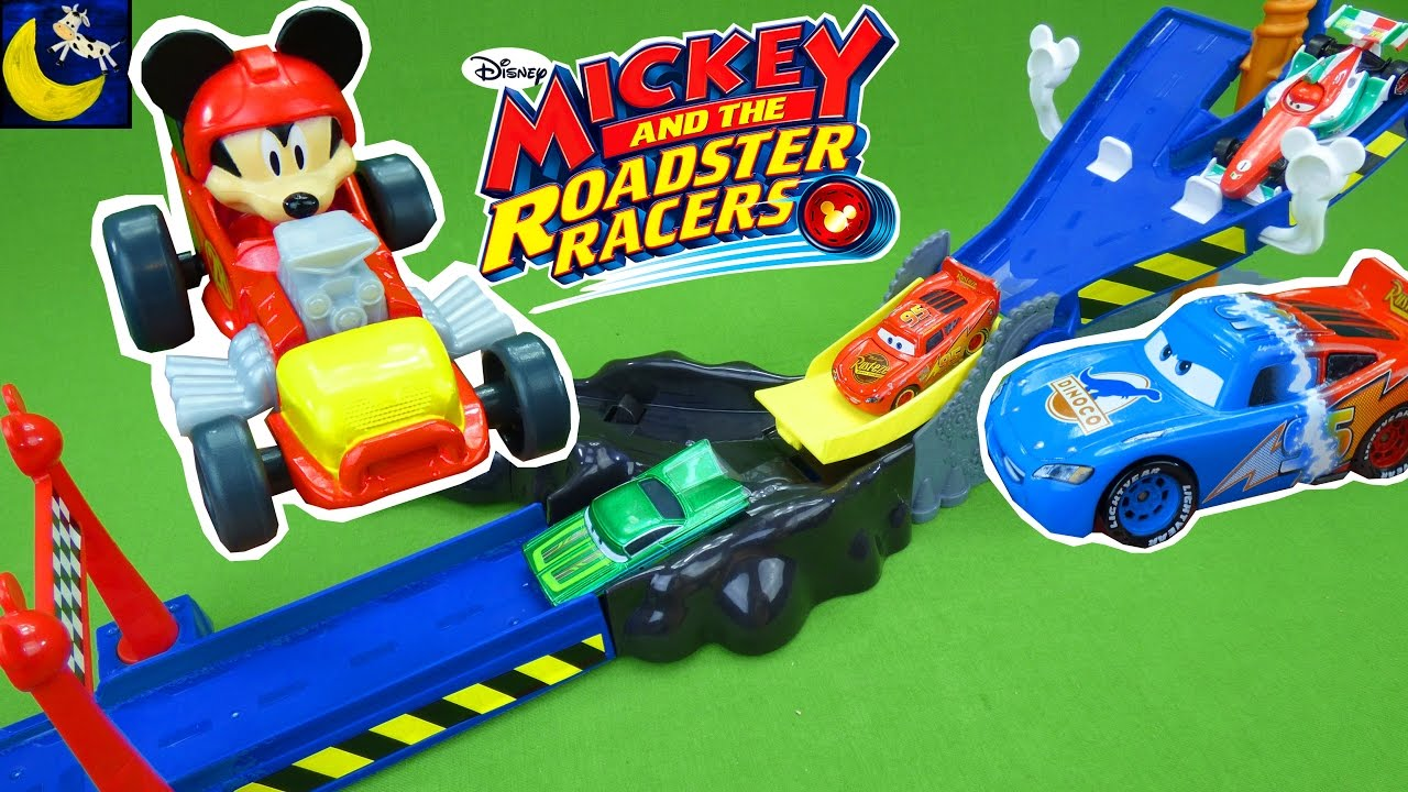 Mickey And The Roadster Racers Toys Speed And Spill