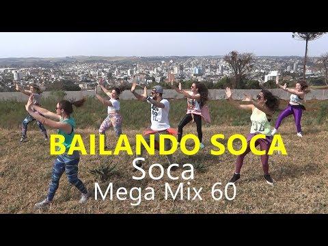 Zumba® - Mega Mix 60 - Bailando Soca - Coreografia l Cia Art Dance
