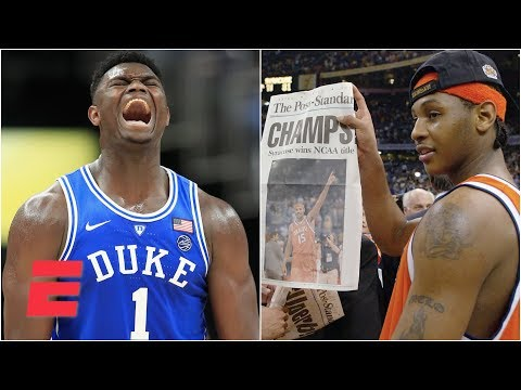 Best college freshman ever: Zion Williamson, Carmelo Anthony or Kevin Durant? | College GameDay