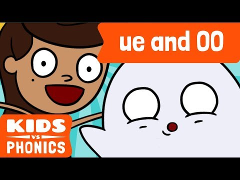 UE and OO | Similar Sounds | Sounds Alike | How to Read | Made by Kids vs Phonics