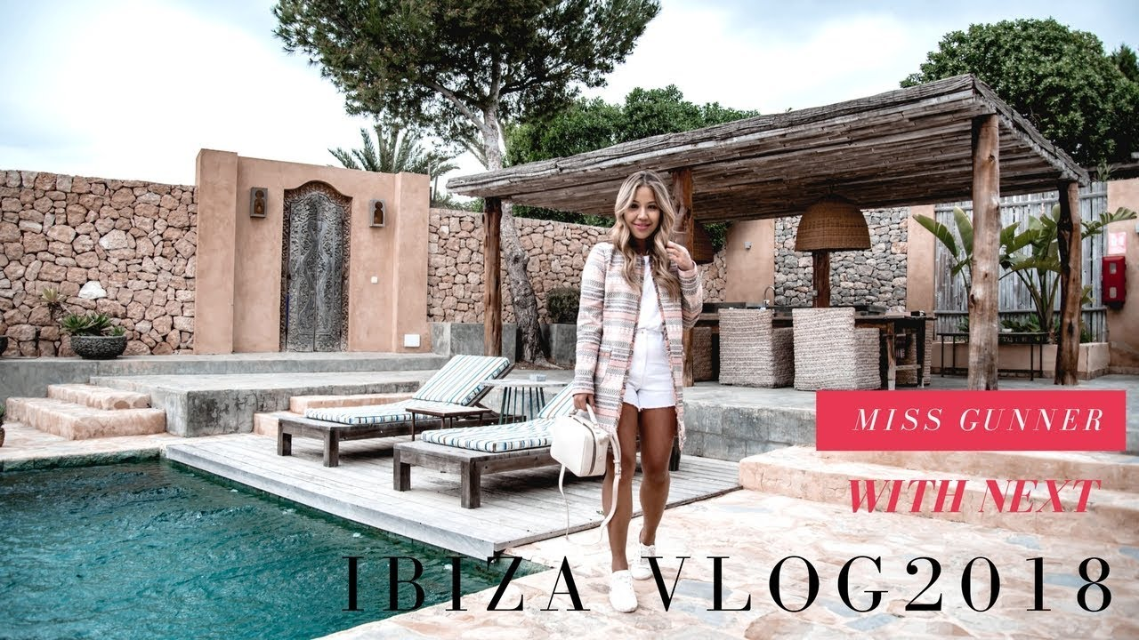 MY IBIZA VLOG 2018 + HOLIDAY OUTFIT IDEAS | MISS GUNNER | ASHLEY