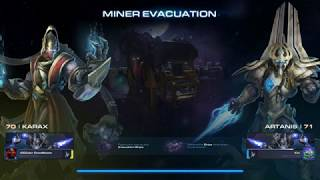 Gaming Time - StarCraft 2 Co-op  - Miner Evacuation -  Karax (with good partner Artanis)
