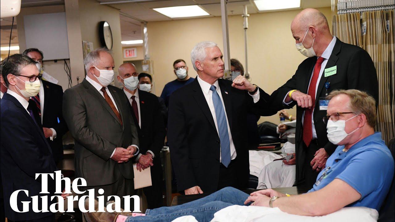 Mike Pence shuns coronavirus mask rule on Mayo Clinic visit