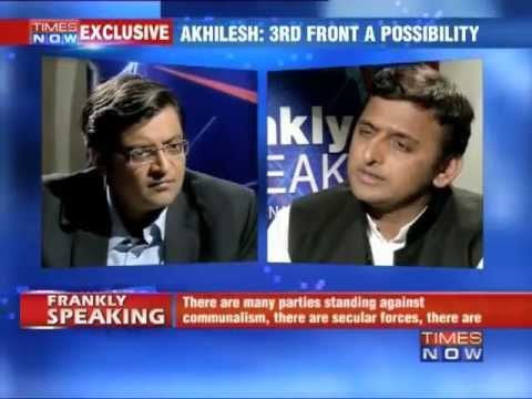 Frankly Speaking with Akhilesh Yadav (The Full Interview)
